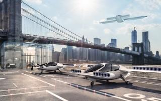 Lilium Jet VTOL concept