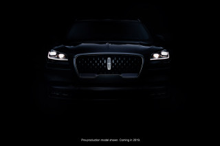 Lincoln Aviator Teaser
