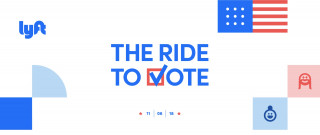 Lyft Ride to Vote campaign