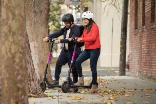 Lyft scooters in Denver