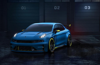 Lynk & Co. hints at Cyan performance sub-brand with 500-horsepower 03 concept