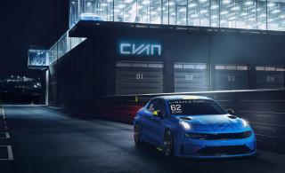2019 Cyan Racing Lynk & Co. 03 TCR race car
