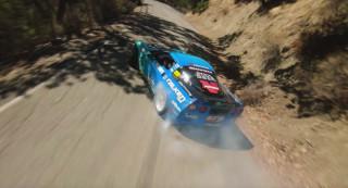 Matt Field drifts a mountain in 1,060-hp Corvette