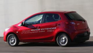Mazda 2 RE Range Extender concept