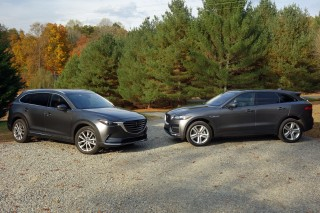 Mazda CX-9 vs. Jaguar F-Pace