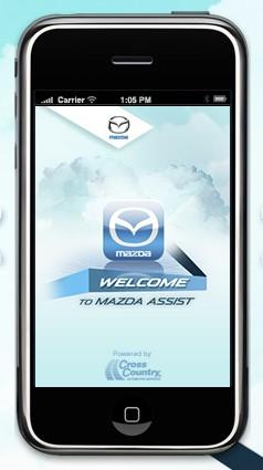 Mazda iPhone app