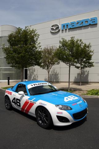 Mazda MX-5 Cup In BRE Livery