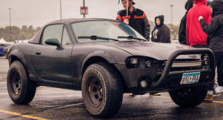 Off-road Mazda Miata Photo: Alex Bellus Photography