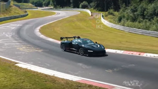 McLaren Senna testing at the Nürburgring