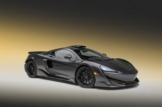 MSO McLaren 600LT dashing to Pebble Beach in bespoke Stealth Gray