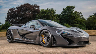 Jenson Button's McLaren P1 for sale
