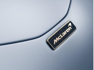 Custom badges on the McLaren Speedtail