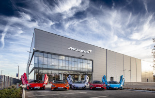 McLaren Composites Technology Center in Yorkshire