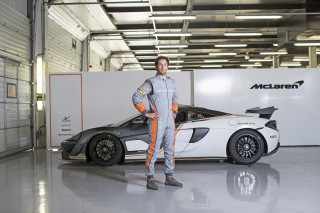 McLaren Sparco create world's lightest race suit