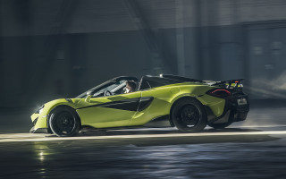 2019 McLaren 600LT Spider blows its top
