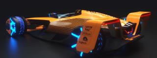 McLaren 2050 F1 car concept