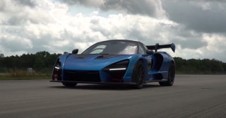 2019 McLaren Senna top speed run