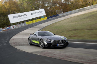 AMG's new GT R Pro runs a 7:04.63 Nürburgring hot lap