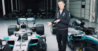 Mercedes-AMG video explaining 2019's Formula 1 design rules