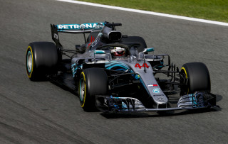 Mercedes-AMG's Lewis Hamilton at the 2018 Formula 1 Italian Grand Prix
