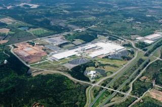 Mercedes-Benz C-Class production in Tuscaloosa, Alabama