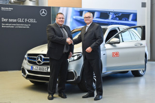 Mercedes delivers first GLC F-Cell hydrogen-electric hybrid SUVs