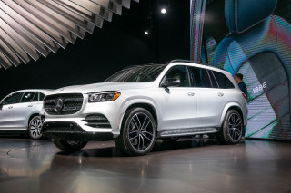2020 Mercedes-Benz GLS, 2019 New York International Auto Show