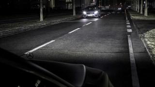 Mercedes-Benz HD matrix LED headlights