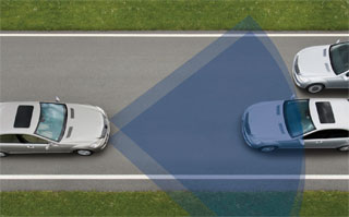 Mercedes Benz Pre-Safe system