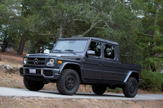 Off-roader built a Mercedes-Benz G-Class pickup because Mercedes won't for the US