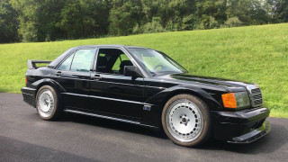 Someone stuck a Mercedes-Benz 190E on a modern AMG C63