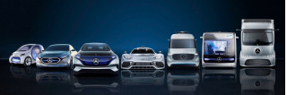 Daimler future electrified vehicles