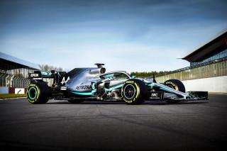 2019 Mercedes-AMG W10 Formula 1 race car