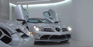Collection of five Mercedes-Benz SLR McLarens