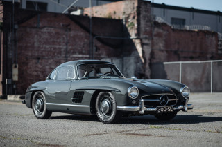 1956 Mercedes-Benz 300SL Gullwing, Bring a Trailer premium auction