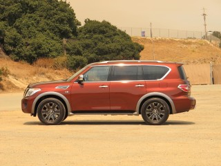 2017 Nissan Armada, Press Drive, Carmel, California, July 2016