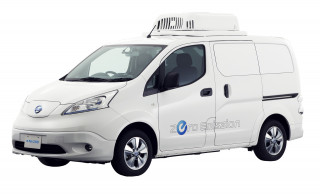 Nissan LCV e-NV200 Fridge Concept for electric refrigerated small van at 2017 Tokyo Motor Show