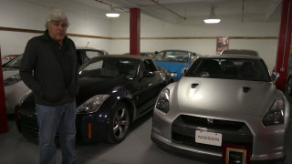 Jay Leno at Nissan Heritage Collection