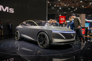 Sedan on stilts: Nissan IMs concept previews crossover electric limo