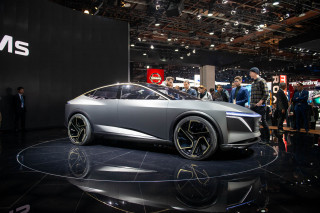 Nissan elevates the sedan with IMs electric-car concept