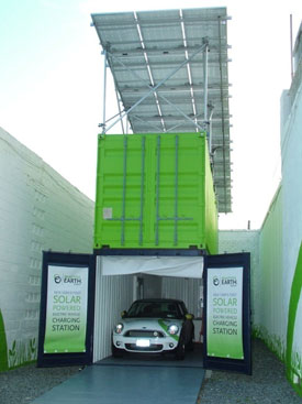 New York City S First Solar Charging Station Built From