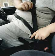 Obese less likely to wear seatbelts