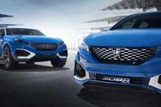 Peugeot 308 R Hybrid concept, 2015 Shanghai Auto Show