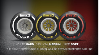 Pirelli 2019 F1 tire compound identifier system