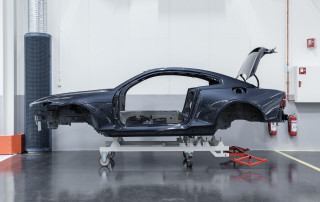Polestar 1 pre-production prototypes under construction