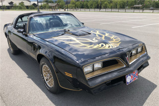 "1978 Pontiac Trans Am ""Smokey and the Bandit"" car owned by Burt Reynolds"