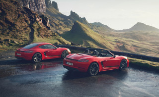 Porsche 718 Boxster and Cayman T bring pure driving thrills