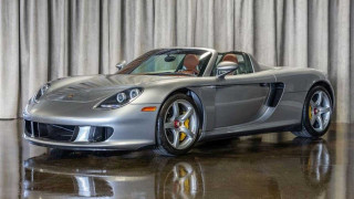 This Porsche Carrera GT has just 69 miles on the clock, and it's for sale