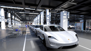 Porsche Taycan production