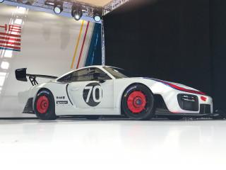 Porsche 935 customer race car, 2018 Rennsport Reunion